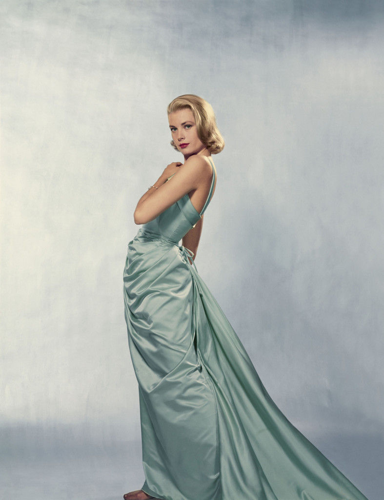 American actress Grace KELLY, posing for Life Magazine.